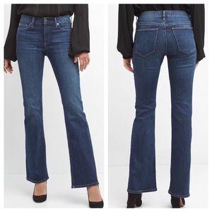GAP Boot Cut Blue Jeans, Size 8 Long, NWT